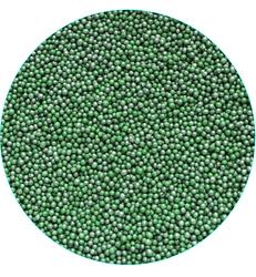Нонпарель перламутровое темно-зеленое  D-1мм 100 г