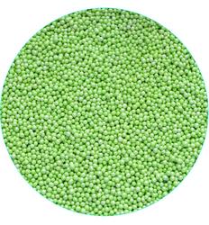 Нонпарель перламутрове світло-зелене D-1мм 100 г