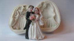 """Силиконовый 3D молд """"Жених невеста 2"""""""